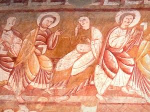 Iglesia saint martin de vic 15 im genes de calidad en for Definicion de pintura mural