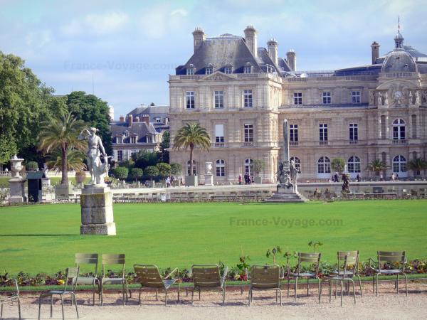 Jardin du luxembourg 19 images de qualit en haute for Chaise jardin du luxembourg